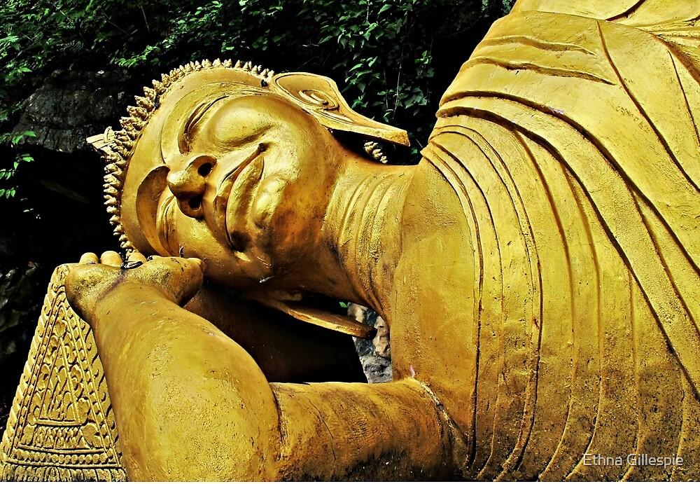 Let Sleeping Buddha Lie  by Ethna Gillespie