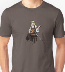 D&D Style Elf - Lute T-Shirt