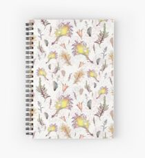 Shore of Seaweed & Shells Spiral Notebook