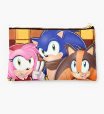 Sonic Boom: Sonic, Amy Rose and Sticks Studio Pouch