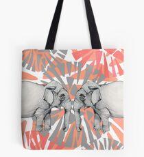 Elephant Mirror Tote Bag