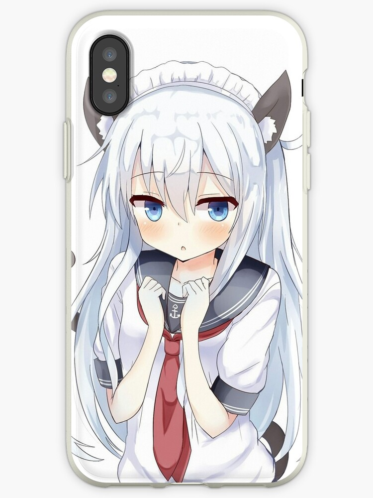 9e6617cc05 Cute Hibiki Neko Cat Ear Design from Kantai Collection