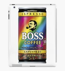 Coffee Boss Rainbow iPad Case/Skin