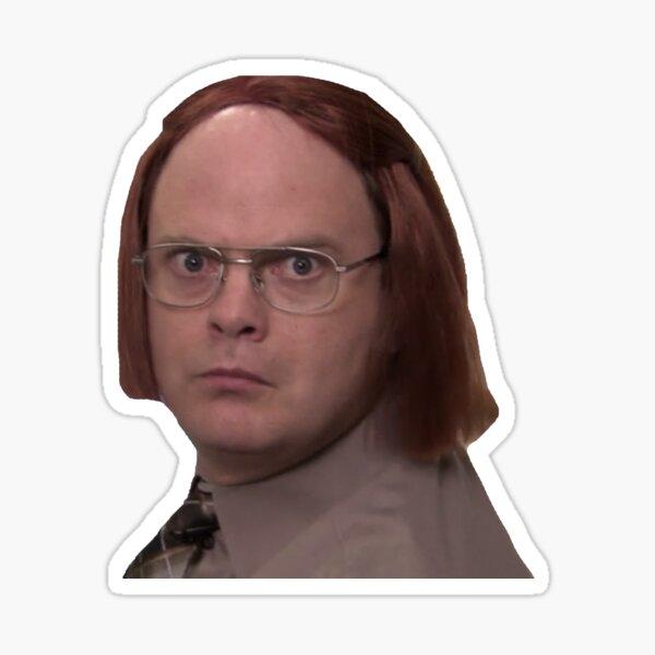 Dwight Schrute as Meredith Sticker