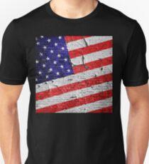 Vintage Patriotic American Flag T-Shirt