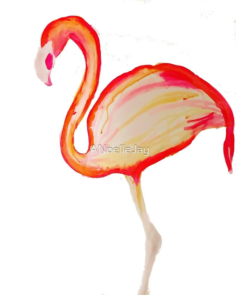 Flamingo Pink by ANoelleJay