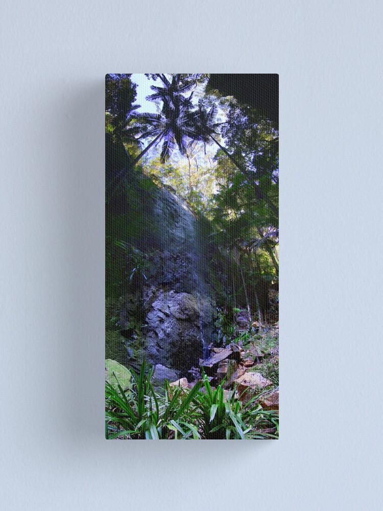 Alternate view of Secret Falls Canvas Print
