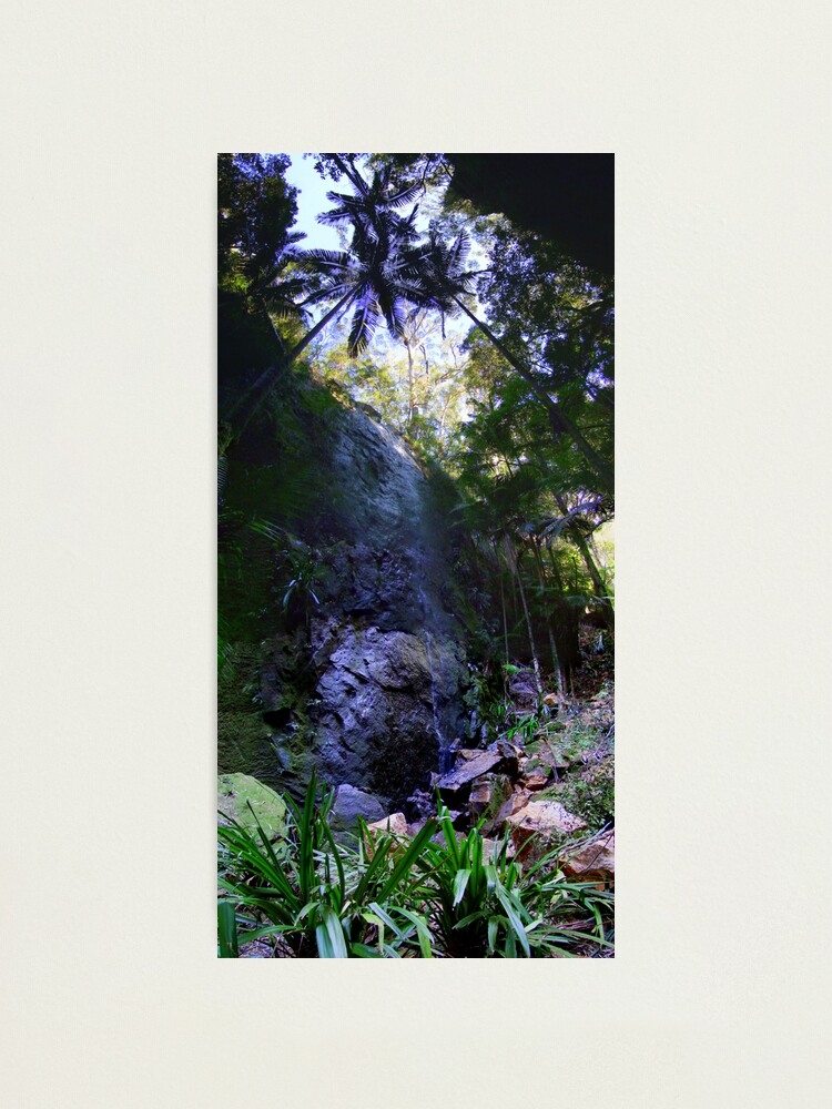Alternate view of Secret Falls Photographic Print