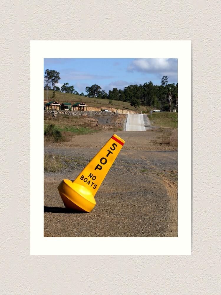 Alternate view of Dam Dry! Art Print
