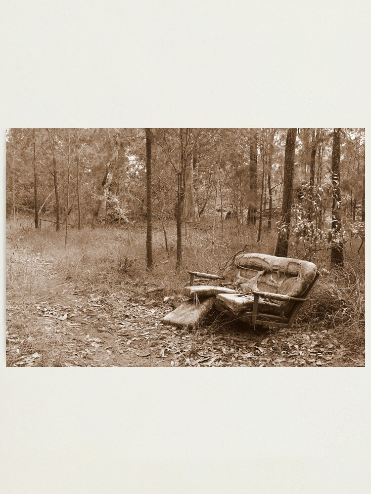 Alternate view of Waiting by the Track Photographic Print