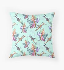 Under the Sea (Weedy Sea Dragon) Throw Pillow