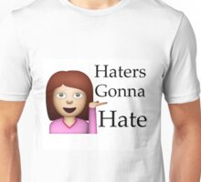 Haters Gonna Hate Emoji Unisex T-Shirt