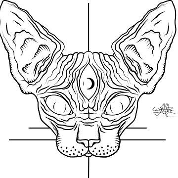 Sphinx Cat  by BECKCR