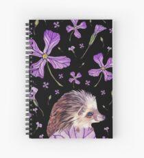 Prickles & Petals the Hedgehog Spiral Notebook