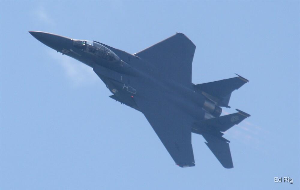 F-15 Eagle by Ed Rig
