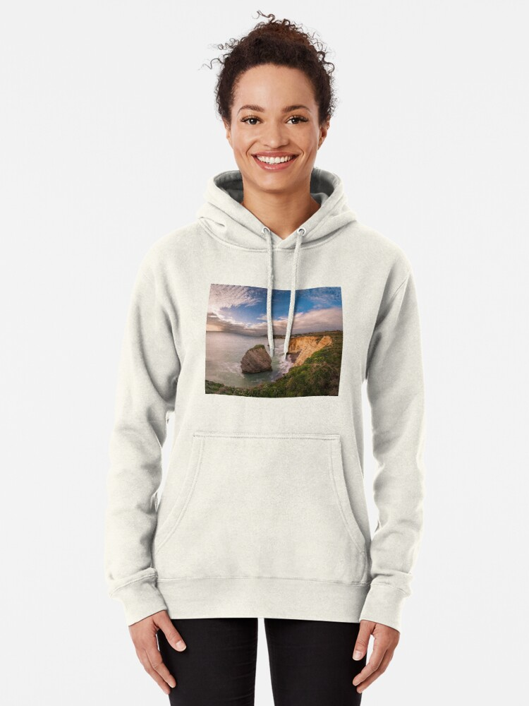 Alternate view of Freshwater Bay Panorama Pullover Hoodie