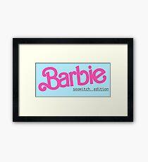 Barbie Seawitch Edition Framed Print
