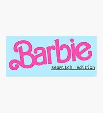 Barbie Seawitch Edition Photographic Print