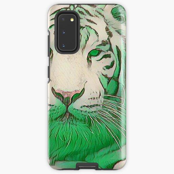Green Tiger Samsung Galaxy Tough Case