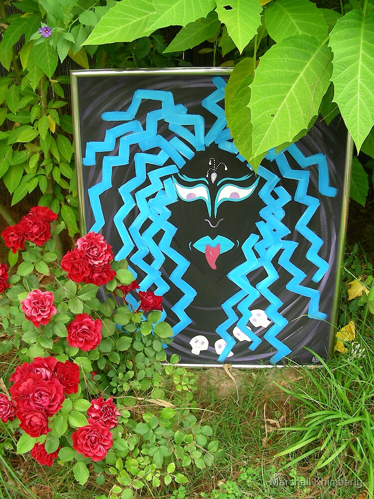 Art In The Garden - Kali Ma by K L Marshall