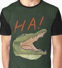 Laughing Gator Graphic T-Shirt