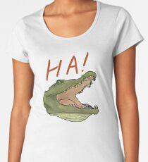 Laughing Gator Women's Premium T-Shirt
