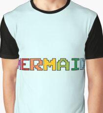 Mermaid Colorful Logo Graphic T-Shirt