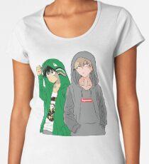 Hypebeast Academia Women's Premium T-Shirt