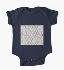 Rose gold mermaid scales - grey marble Kids Clothes
