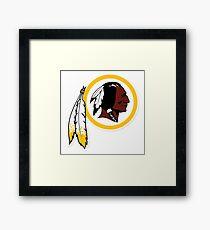 Redskins Framed Print