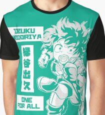 My Hero Academia: Izuku Midoriya  Graphic T-Shirt