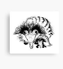 Wacky Weasel Canvas Print