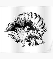 Wacky Weasel Poster