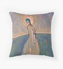 A saintly woman Throw Pillow