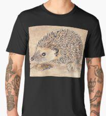 Hedgie, the African Hedgehog Men's Premium T-Shirt