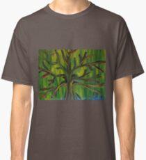 Cool Tree Finger Painted MKART Classic T-Shirt