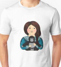 Dian Fossey and litle gorilla T-Shirt