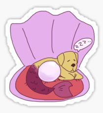 Sleeping Merdawg Sticker