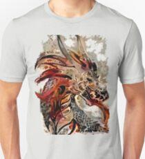 anunusualwoman steampunk gear dragon T-Shirt