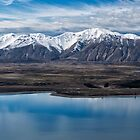 Above Lake Tekapo 2 by Charles Kosina