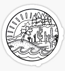 All Kinds of Land Sticker