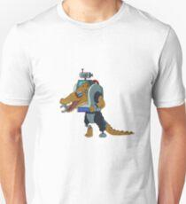 Crocubot Rick and Morty - Sticker T-Shirt