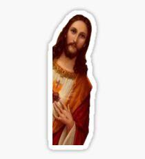 surprise jesus Sticker