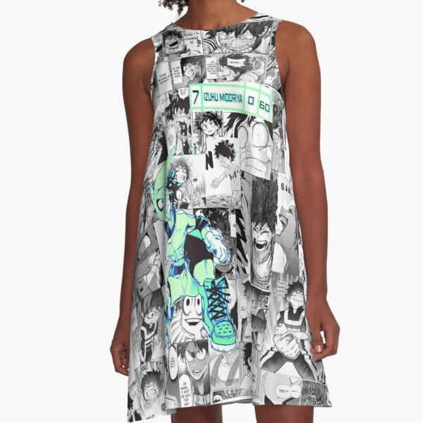 The Deku Who Gives It His All! A-Line Dress