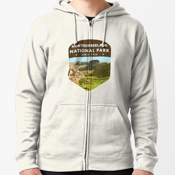 Northumberland National Park Zipped Hoodie