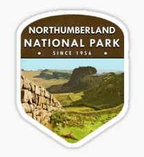 Northumberland National Park Sticker