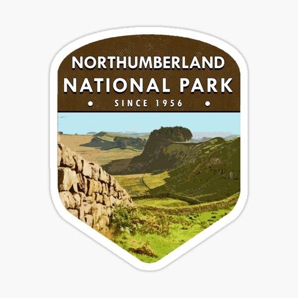 Northumberland National Park Sticker