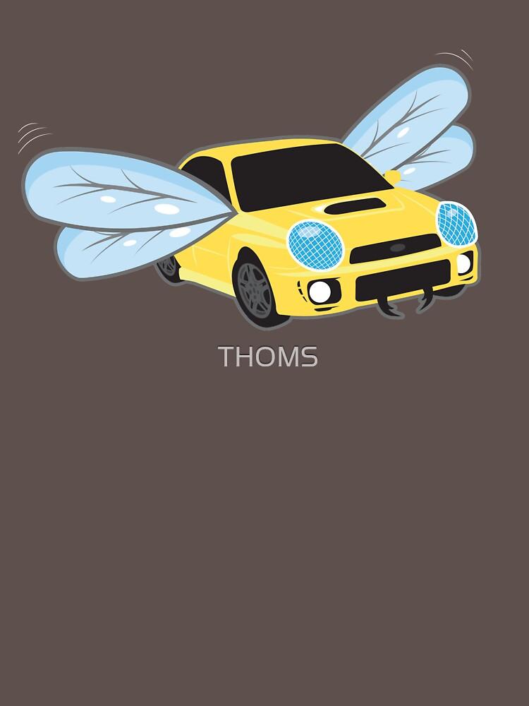 Subaru WRX Bugeye Bug Auge inspiriert Subaru Impreza WRX STI EVO von THOMS