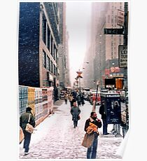Broadway and 42nd Street 1985 Poster