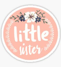 Little Sister Sticker